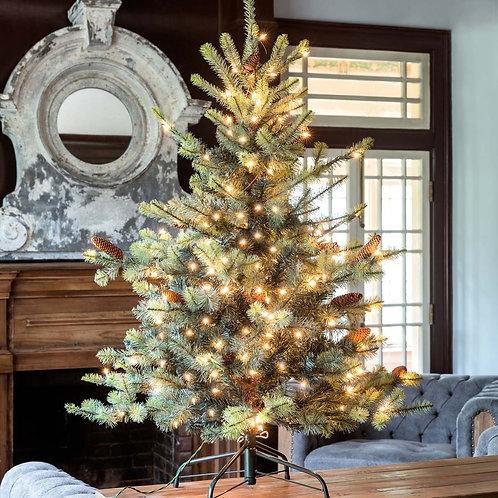 Blue Spruce LED Pre-Lit Tree 4.5'