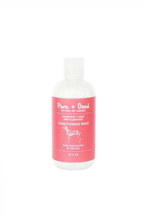 Pure + Good Dog Conditioner (Grapefruit And Sage)