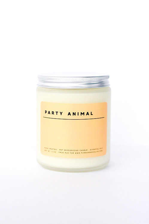 Pure + Good Candle Party Animal
