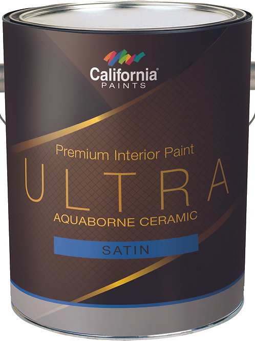 California Paint Ultra Ceramic Interior Satin Wall/Trim Paint