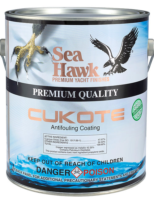 Sea Hawk Islands Cukote Premium Ablative Boat Bottom Paint