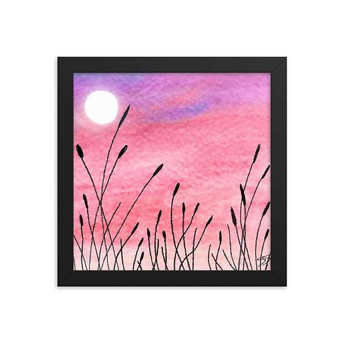 Lasting Sky Framed Poster