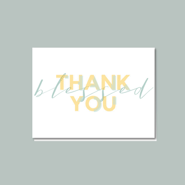 Thank You Cards designed for my own business!