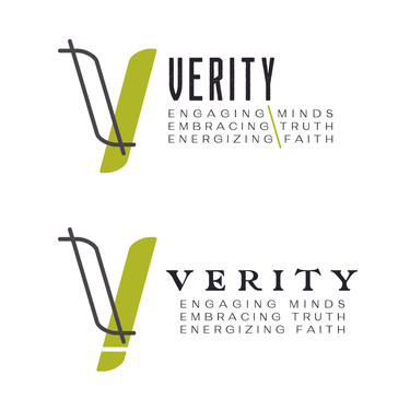 Logo variations that were considered.