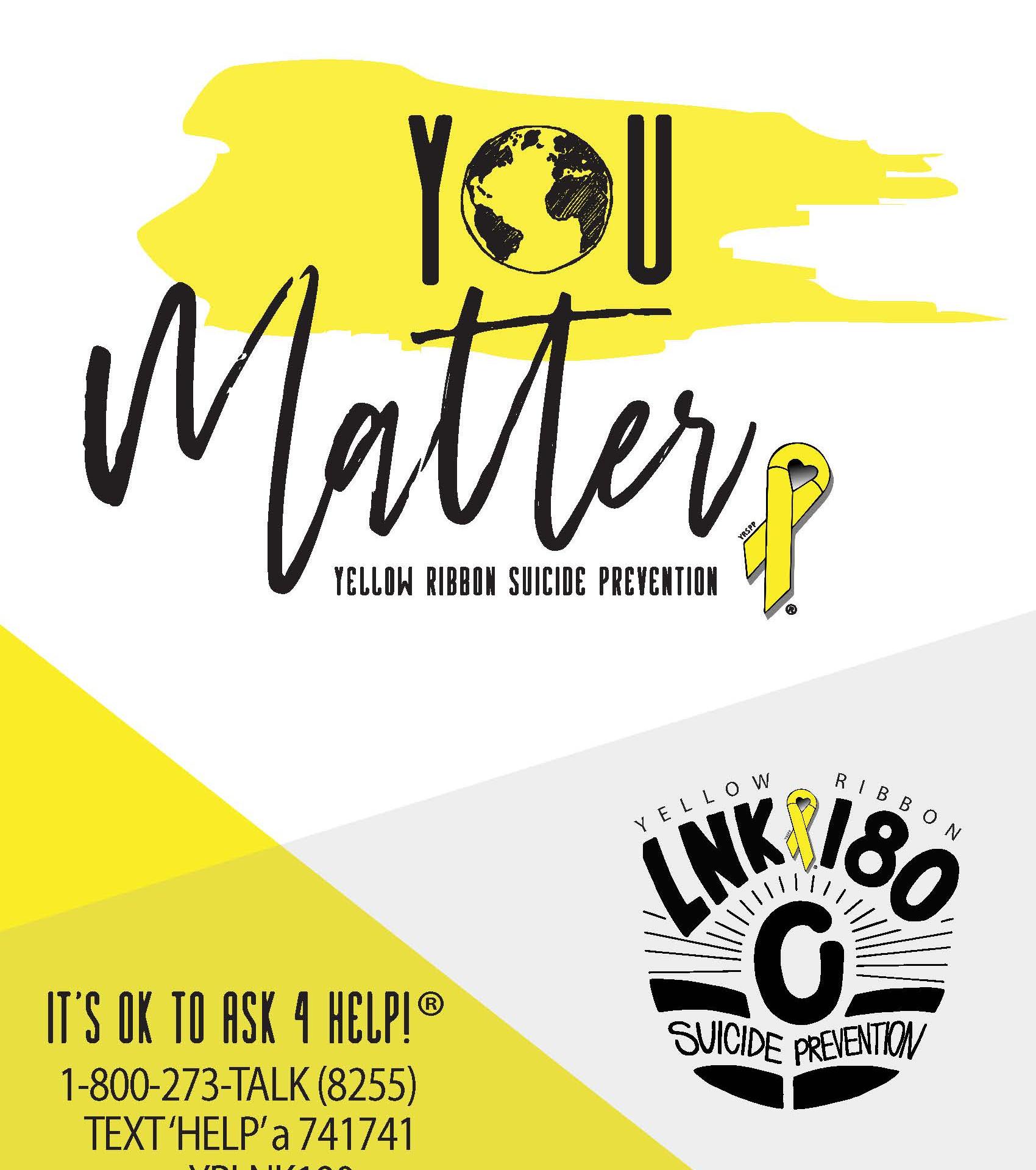 Yellow Ribbon Week 2019 Poster