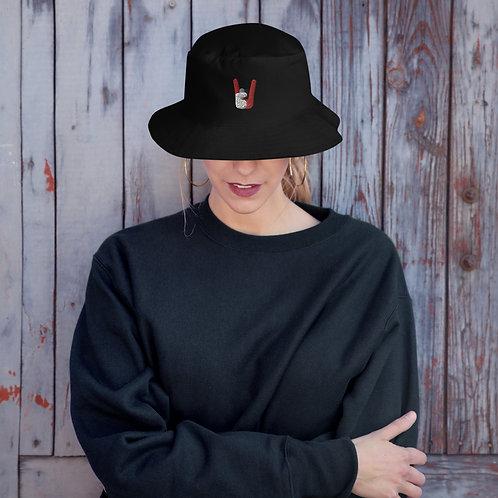 Rock On Huskers Bucket Hat