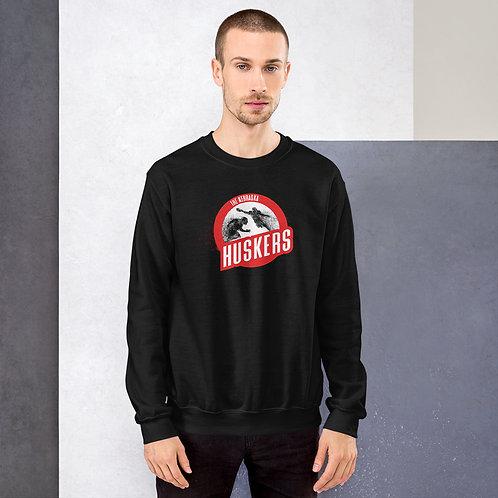 Husker Explosion Crew Neck Sweatshirt