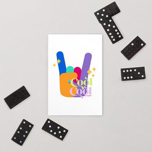 Cool Cool Postcard