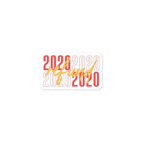 2020 Refund