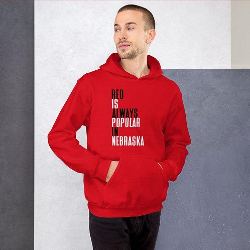 Red is Popular Hoodie