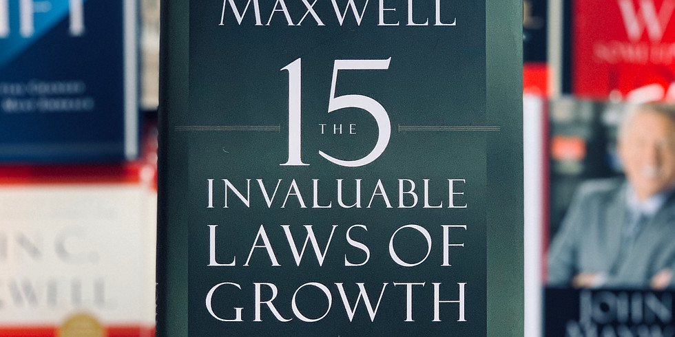The 15 Invaluable Laws of Growth MMG