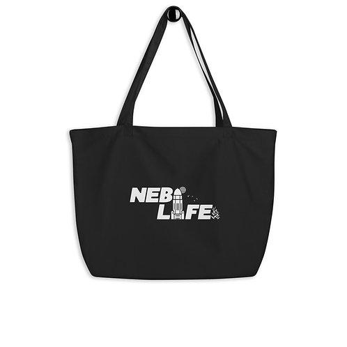 NEB Life Large organic tote bag