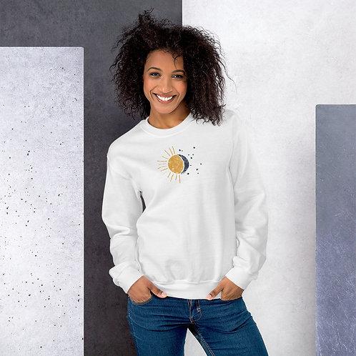 Sun & Moon Crew Neck Sweatshirt