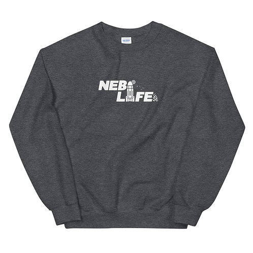 Nebraska Life Crew Neck (White)