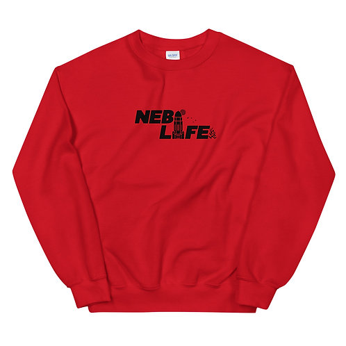 Nebraska Life Crew Neck (Black)