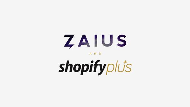 Zaius & Shopify Announcement
