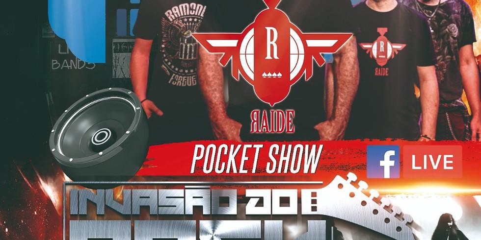 POCKET SHOW RAIDE no Programa Invasão do Rock - Radio Black Sampa