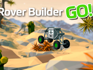 New mobile game: Rover Builder GO