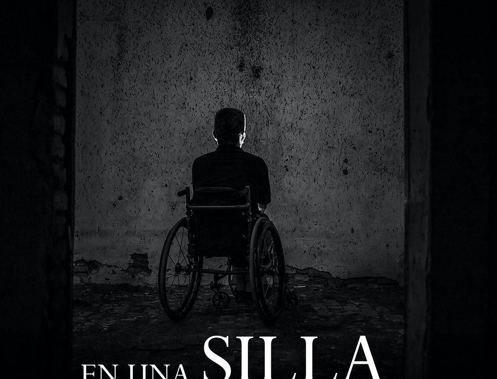 En una silla de ruedas