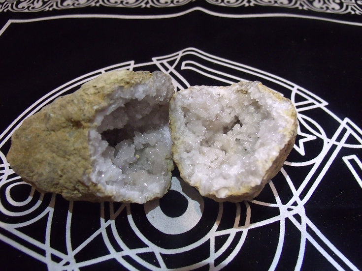 Géodes de quartz petites