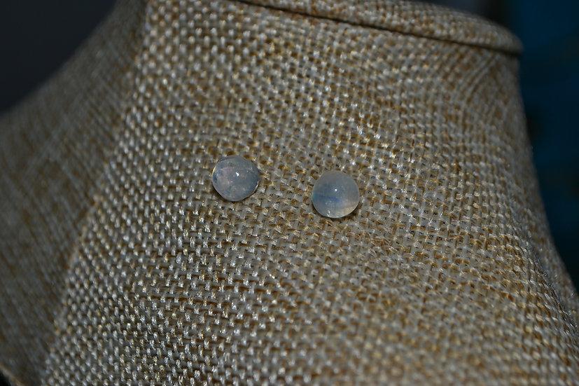 Boucles d'oreilles pierre 5mm