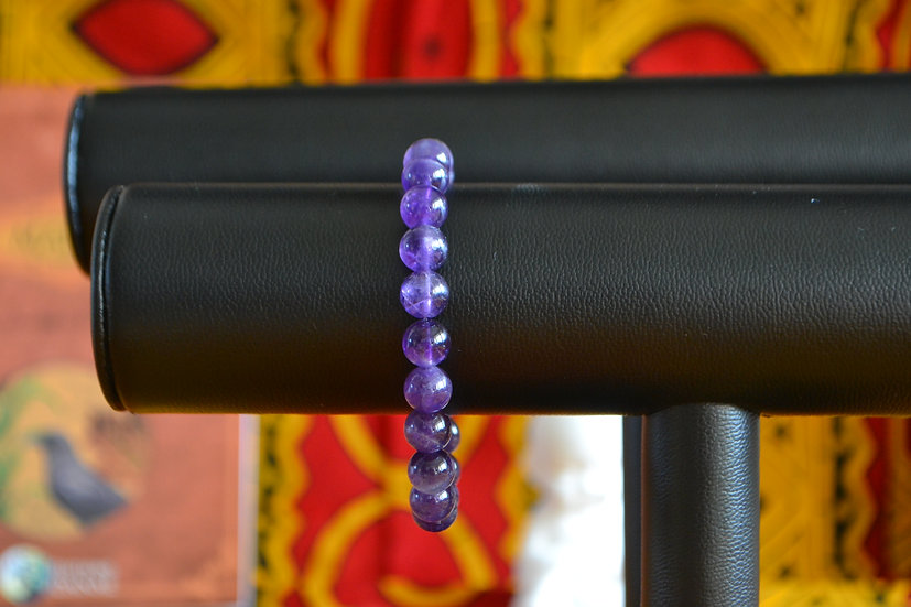 Bracelet perles 8mm