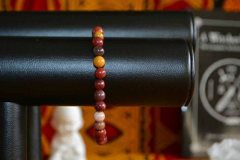 Bracelet perles 6mm