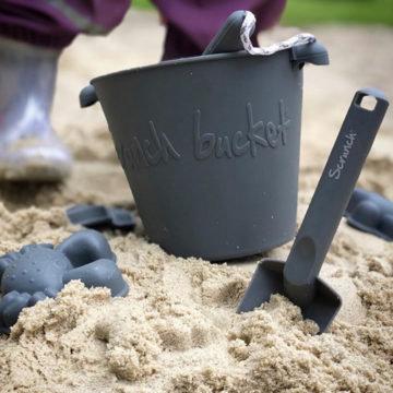 Scrunch Beach Set - Antracite Grey