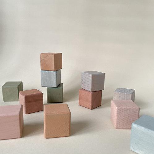 Wooden Cube Set