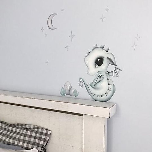 Dex the Dragon Wall Decal