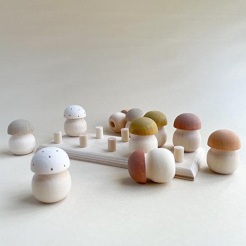 Wooden Mushroom Sorter