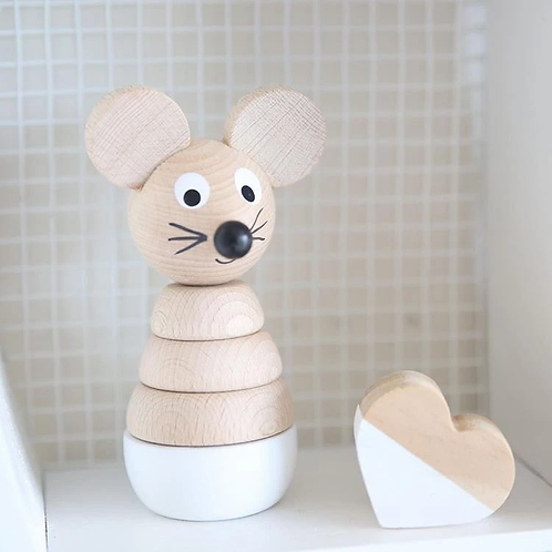 miva vacov wooden mouse puzzle