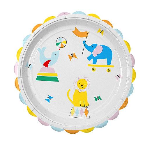 Circus Fun Plate