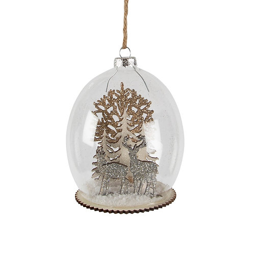 Luxe Forest Stag Bauble
