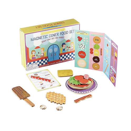 magnetic diner set children's play pretend singapore