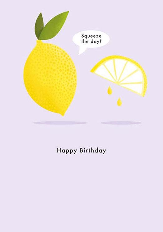 Lemon Birthday Card