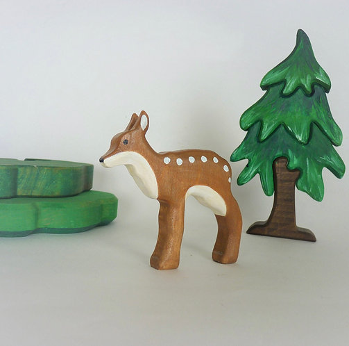 Wooden Fawn