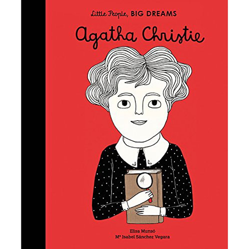 Little People Big Dreams - Agatha Christie