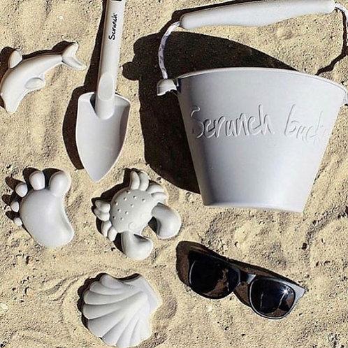 Scrunch Beach Set - Mushroom