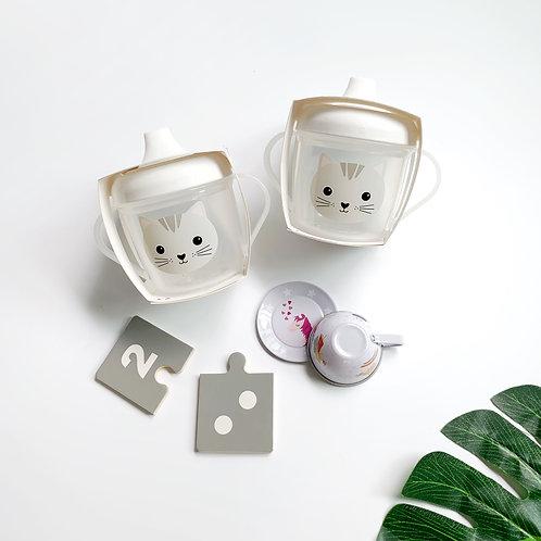 Kawaii Cat Sippy Cup
