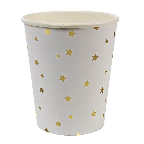 Gold Stars Confetti Cup