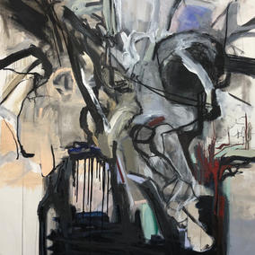 190X135cm, mixed media on canvas, 2021