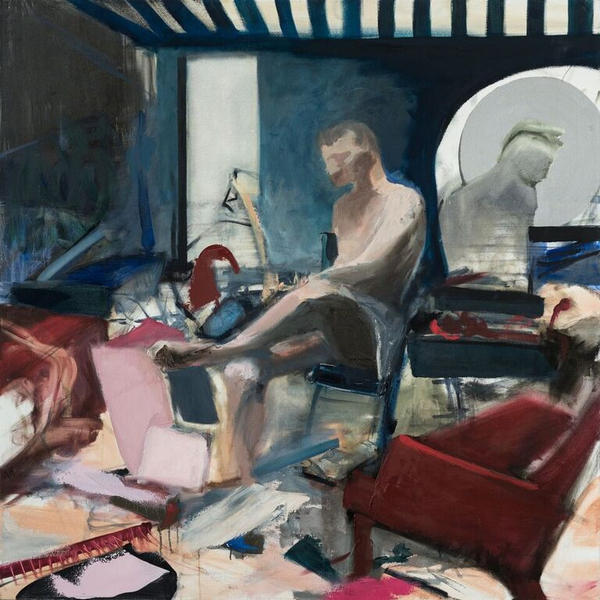 STUDIO LIFE 120x110cm, oil on canvas, 2016