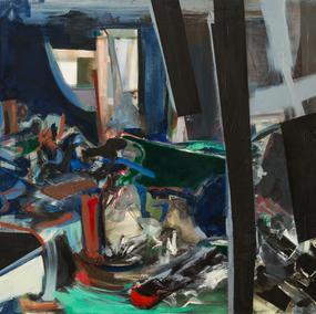 120x180cm, oil on canvas, 2014