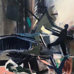 AFTER HENRI CARTIER-BRESSON 180x120cm, oil on canvas, 2016