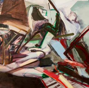 RODIN SERIES 120x150cm, oil on canvas, 2013