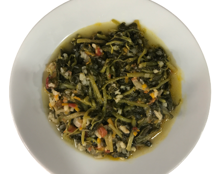 Zeytinyağlı (Pirinçli) Ispanak