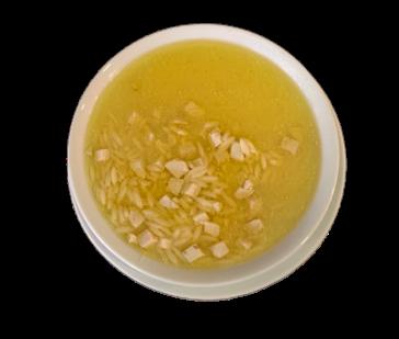 Tavuk Suyu Çorbası (Arpa Şehriyeli)