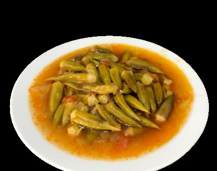 Zeytinyağlı Bamya