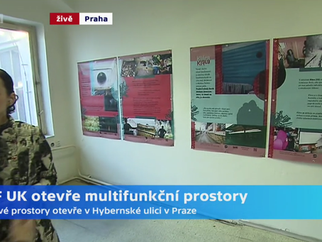 'Hobohemia: The Homeless City' exhibition in Czech Television (CZ)